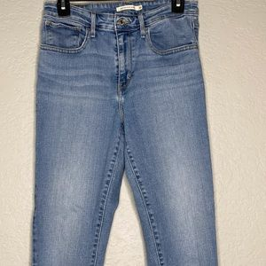 Levi's 721 High Rise Skinny Jeans Size 30